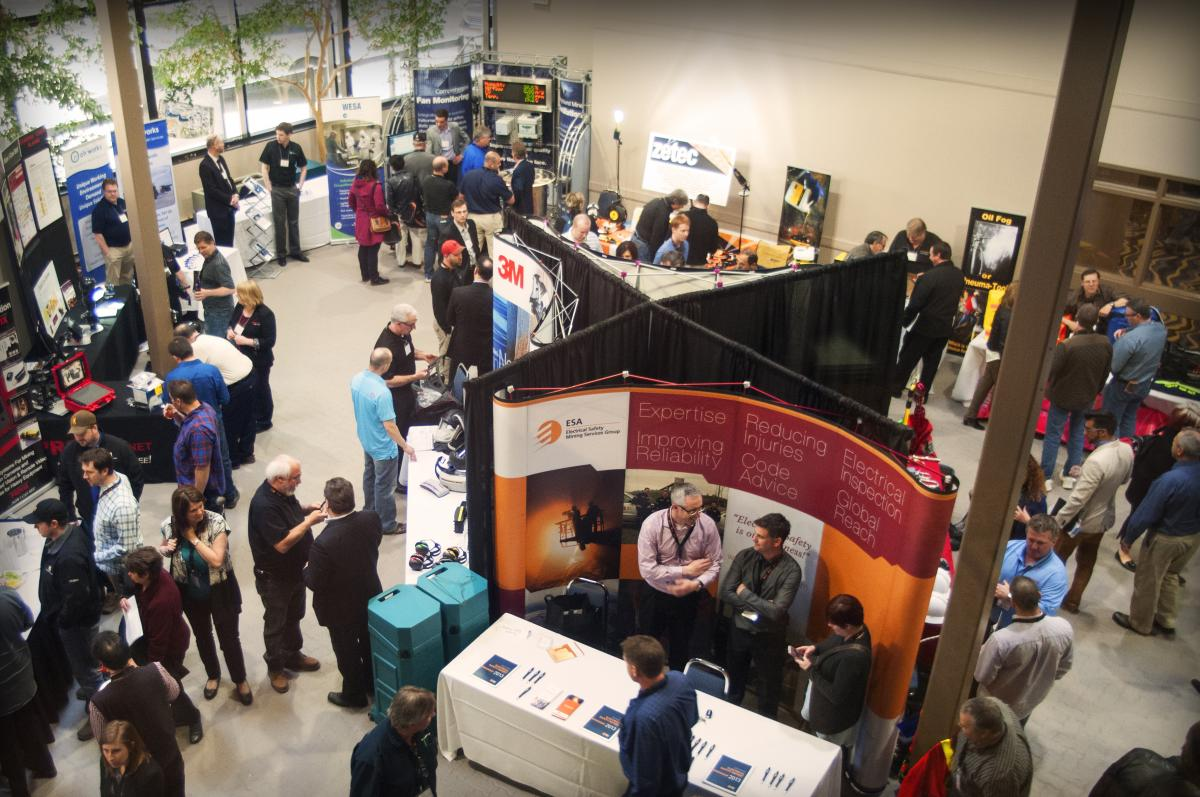 2015 Mining conference trade show - Workplace Safety North
