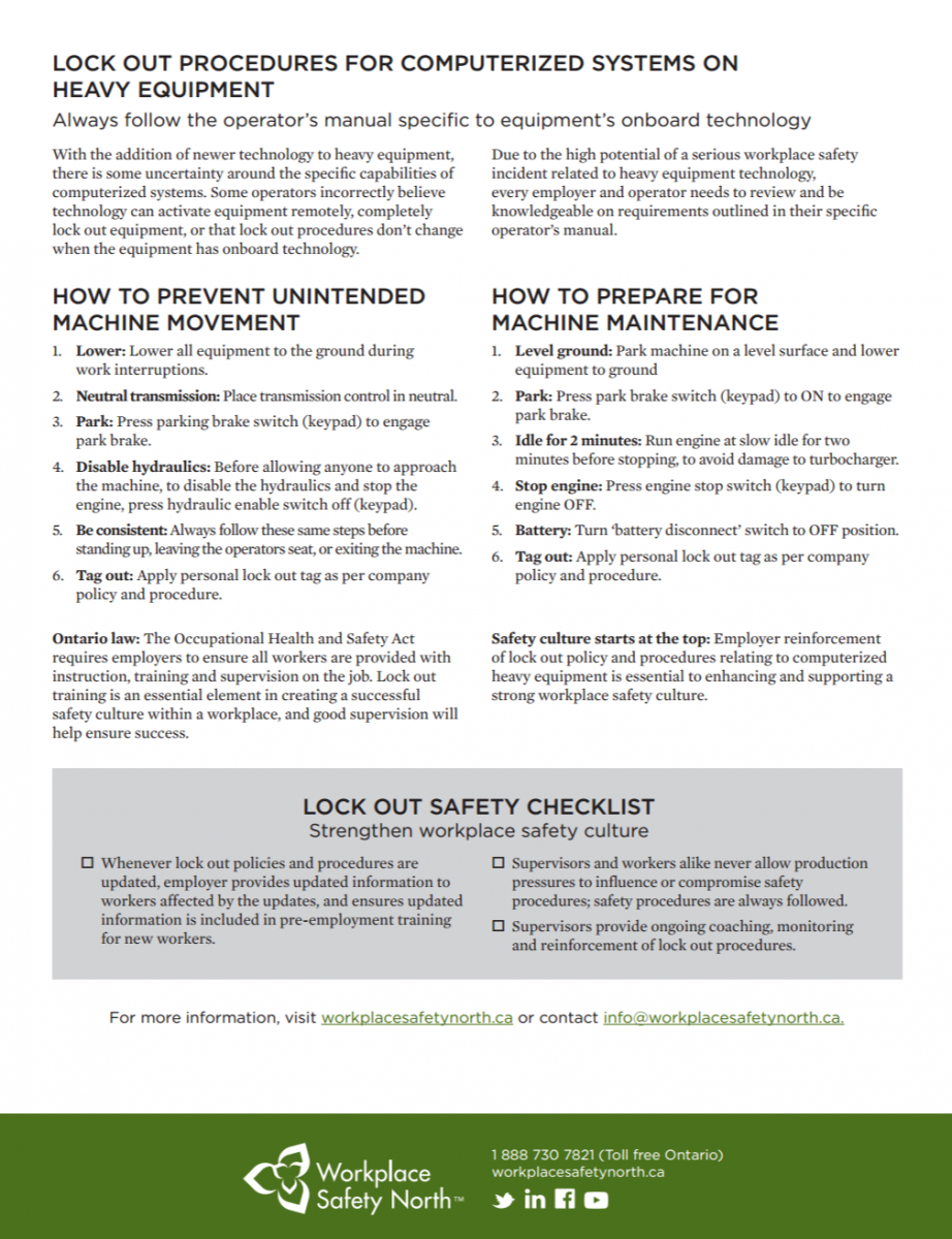 Page 2 of Heavy equipment operator's guide to safe use of onboard computer  systems