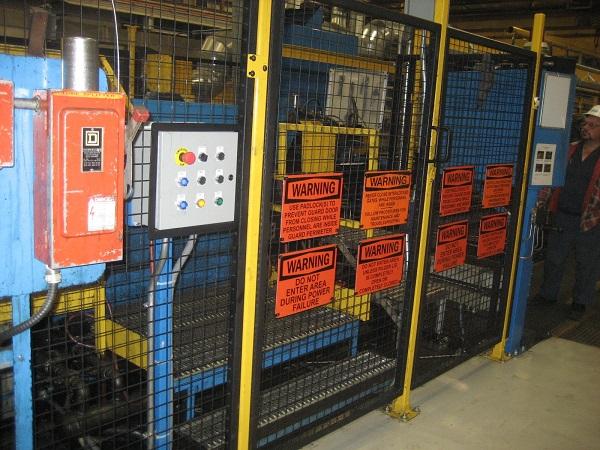 machine guarding policy