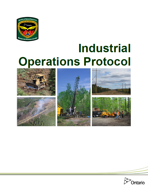 Cover of MNRF Industrial Operations Protocol