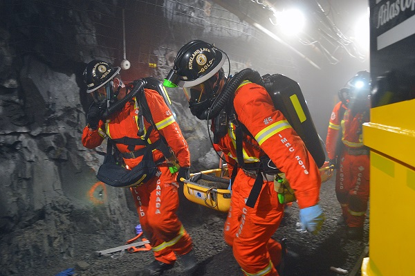 Winners of 2016 International Mine Rescue Competition