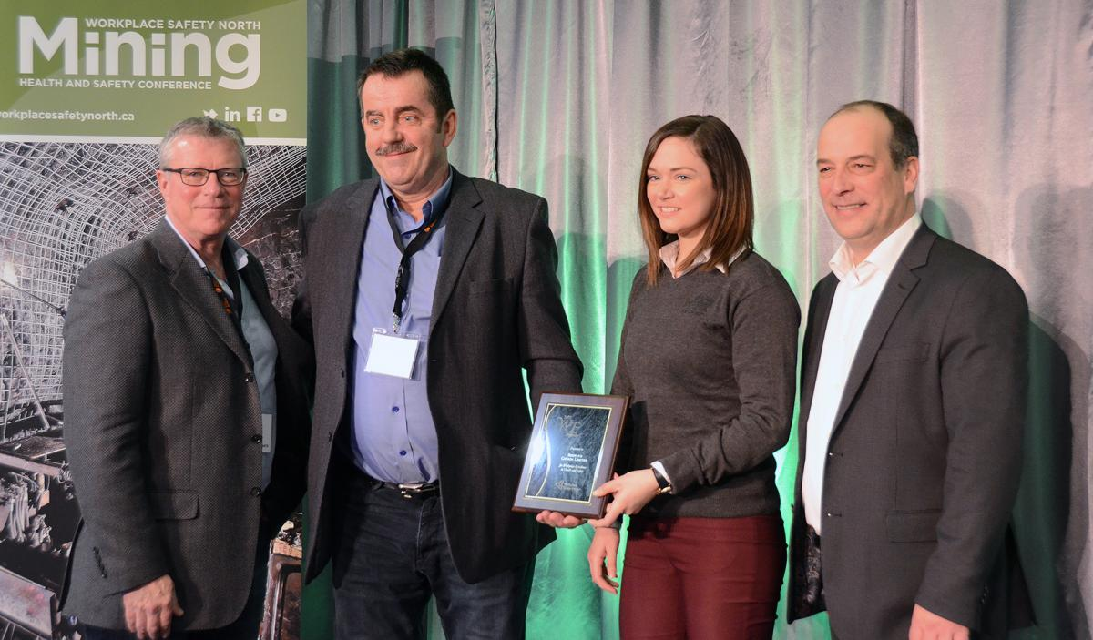 Mining Health and Safety Conference award winners