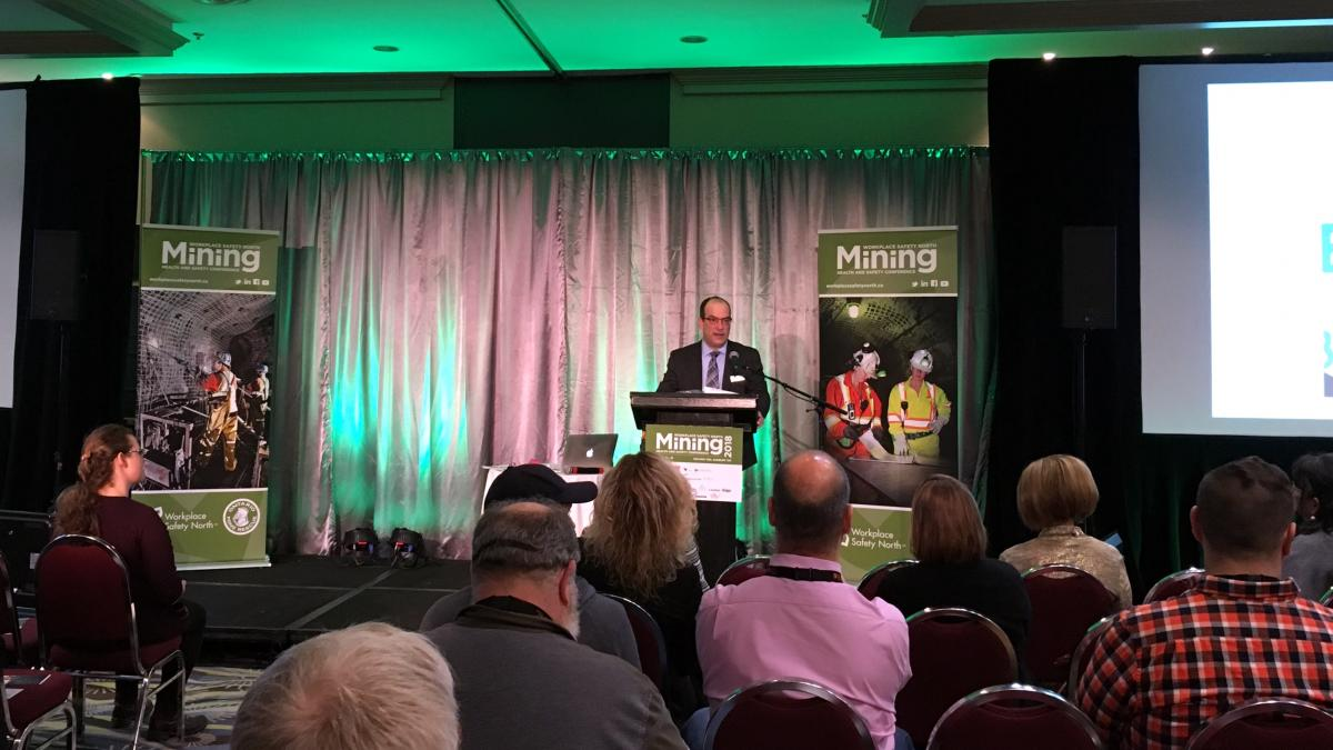 Mining Health and Safety Conference opening remarks with Paul Andre, WSN CEO