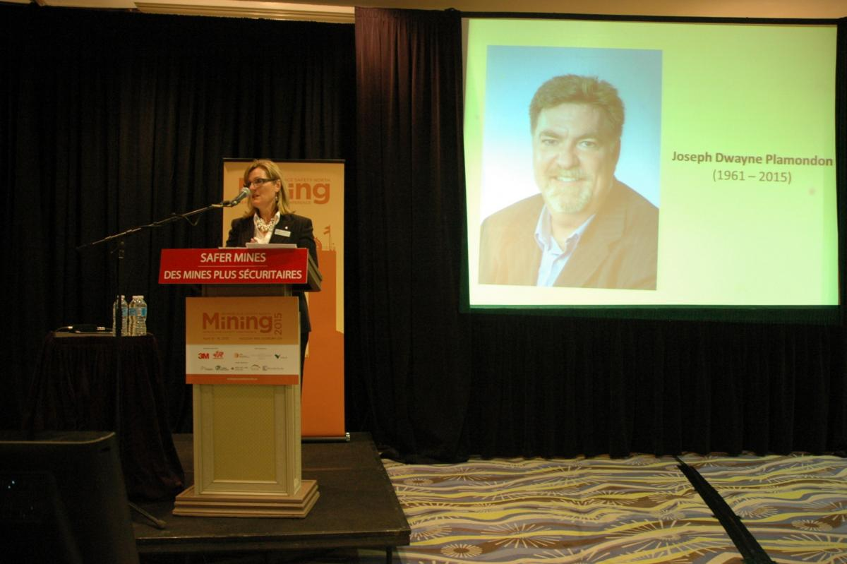 2015 mining conference welcome and opening remarks by Candys Ballanger-Michaud
