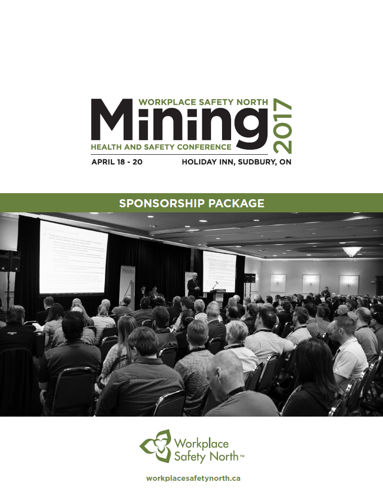 Cover of Mining Health and Safety Conference 2017 Sponsorship Package