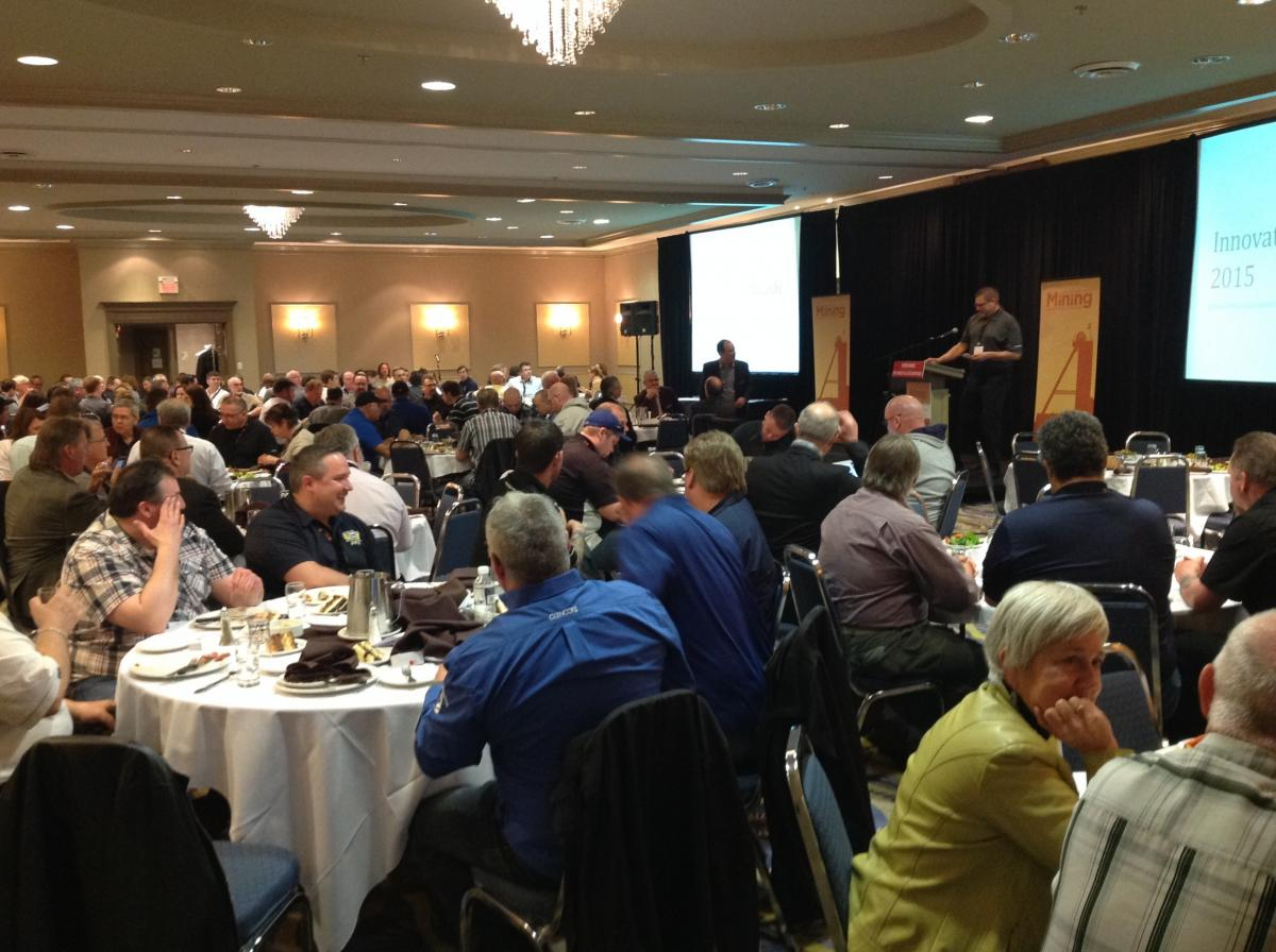 2015 Mining safety conference - awards luncheon