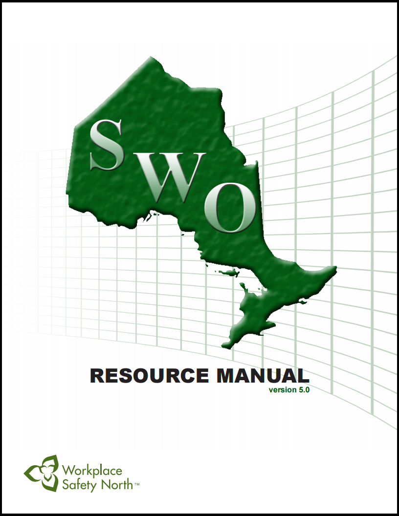 updated safe workplace ontario certification program new 2015 cover of 2015 safe workplace ontario 2015 resource manual