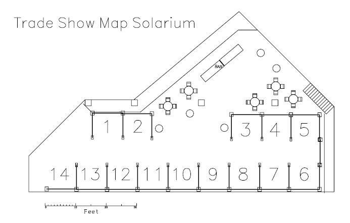 Trade Show Floor Plan: Your Health And Safety Partner