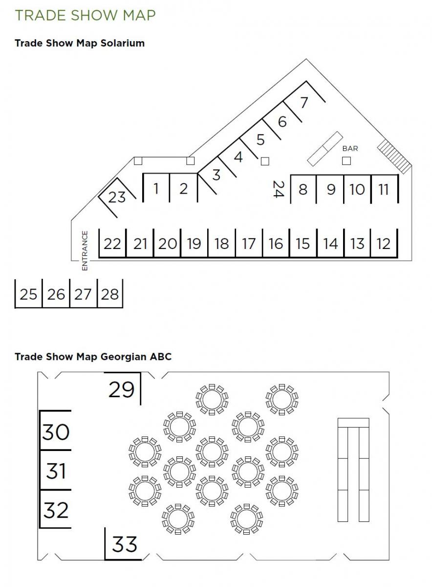 Workplace safety north in the north for the north for Trade show floor plan
