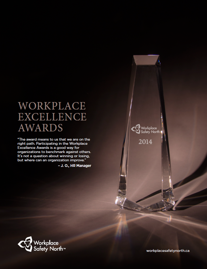 Workplace Excellence Awards information sheet cover