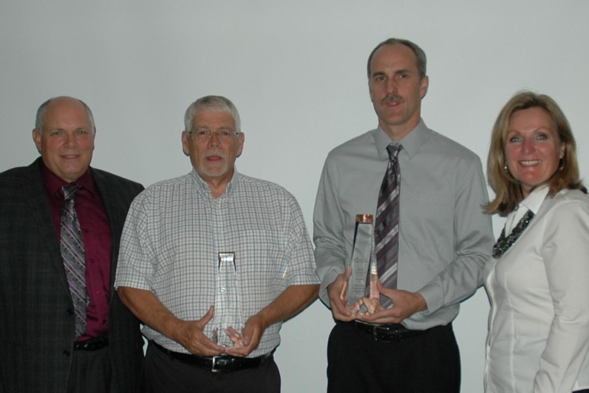 WSN staff with award winners