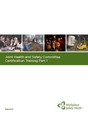 Cover for JHSC Part 1 Certification Learner Material