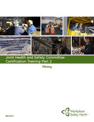 Cover for JHSC Part 2 (Mining) Learner Material