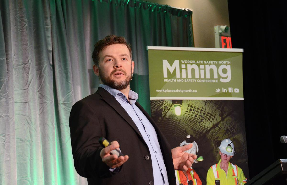 Speaker at Mining Health and Safety Conference