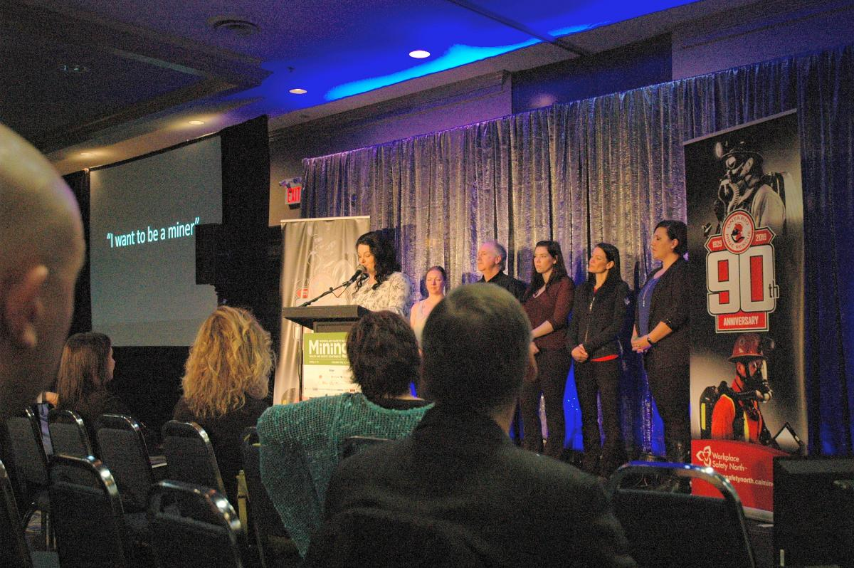 All-women mine rescue team speak at 2019 Mining Health and Safety Conference