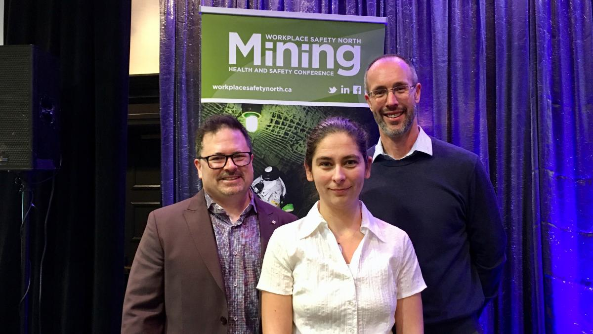 Mining Mental Health presenters at 2019 Mining Health and Safety Conference