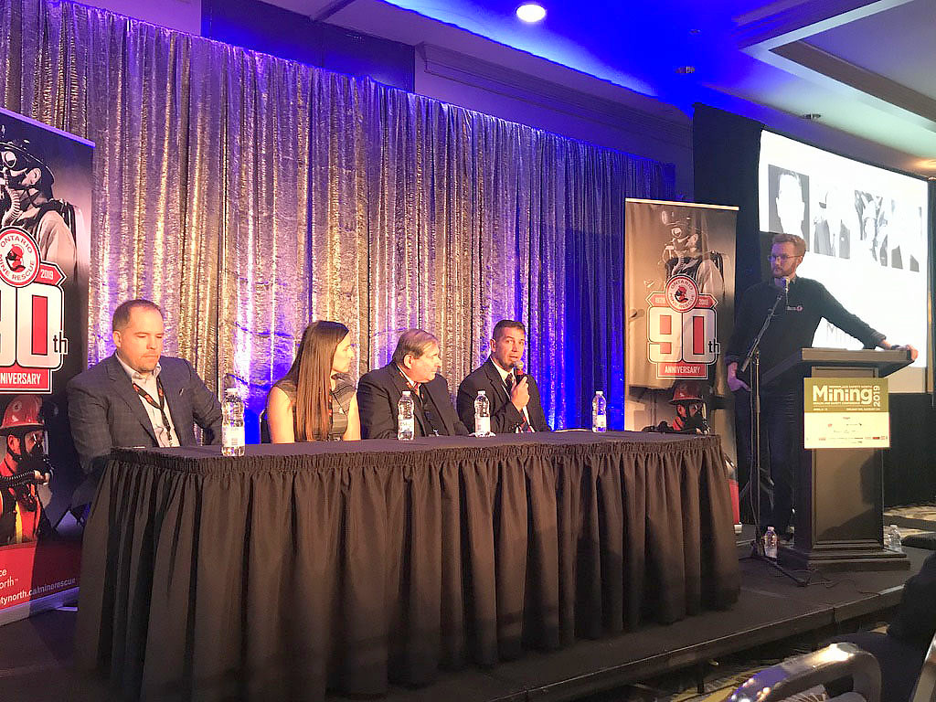 Ted Hanley moderates industry panel at 2019 Mining Health and Safety Conference