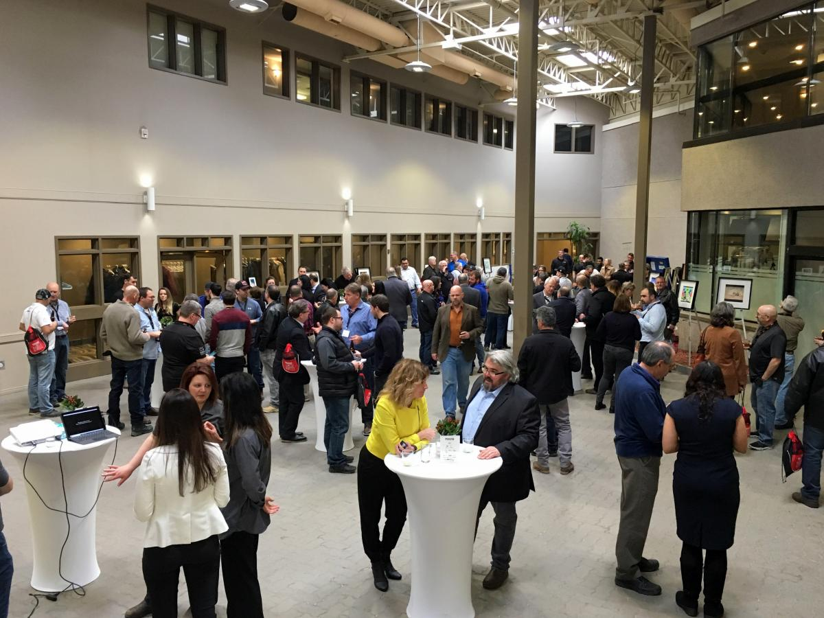 Opening reception of 2019 Mining Health and Safety Conference