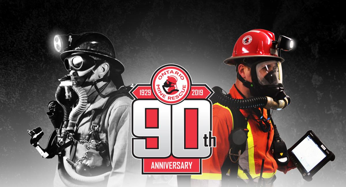 Ontario Mine Rescue 90th Anniversary