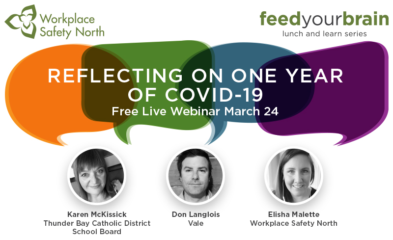 Reflecting on One Year of COVID-19 Free Live Webinar March 24, 2021