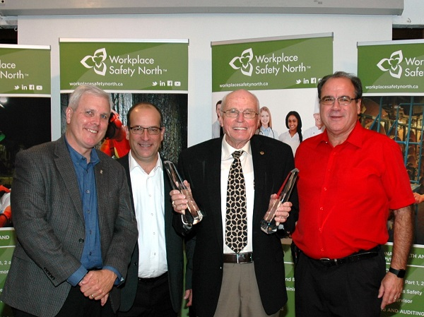 Wellington Produce Packaging representative accepts President's Award for health and safety excellence